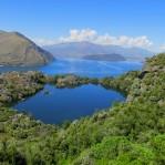 Arethusa Pool on Mou Waho Island - Lake Wanaka